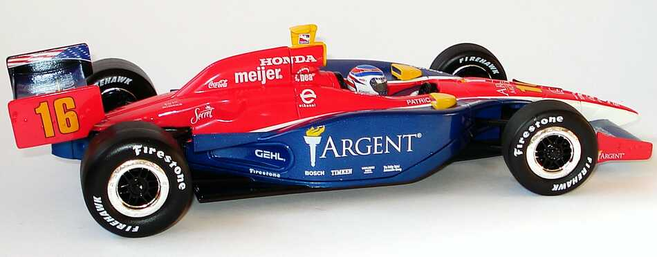 Foto 1:18 Indy Car 2005 Rahal Letterman Racing, Argent Nr.16, Danica Patrick Greenlight