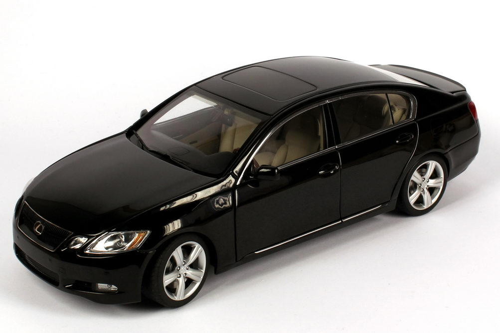 Foto 1:18 Lexus GS430 (2006) onyx-schwarz AUTOart 78802