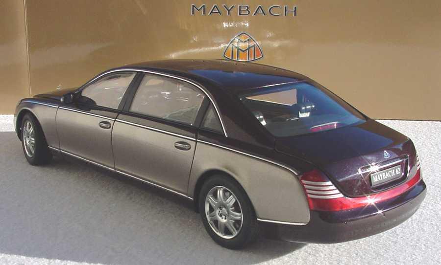 Foto 1:18 Maybach 62 ayresrockred/dark Werbemodell AUTOart B66962177