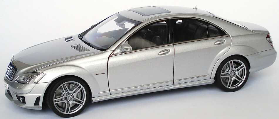 Mercedes Benz S 63 Amg W221 Iridiumsilber Met