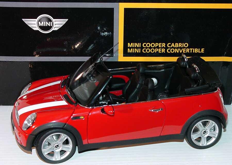 new mini cooper cabrio chilired mit wei en streifen. Black Bedroom Furniture Sets. Home Design Ideas