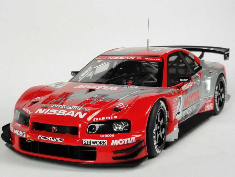 Nissan Skyline R34 Gt R Gt500 Jgtc 2003 Motul Pitwork Nr