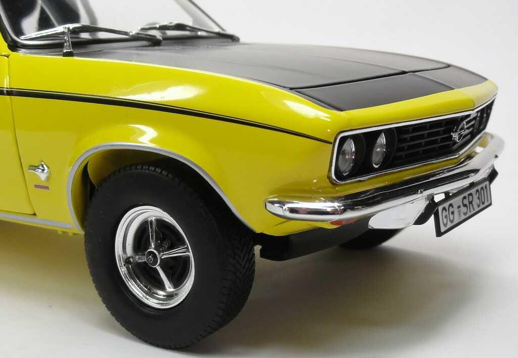 Foto 1:18 Opel Manta A SR gelb Norev 183625