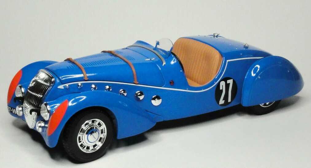 Foto 1:18 Peugeot 302 Darl´Mat Roadster 24h von Le Mans 1937 Nr.27, Daniel Porthault / Louis Rigal Norev 184702