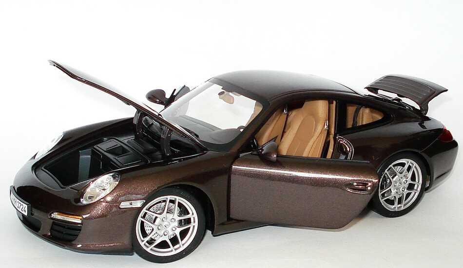 Foto 1:18 Porsche 911 Carrera (997, Modell 2009) macademia-met. Norev 187523