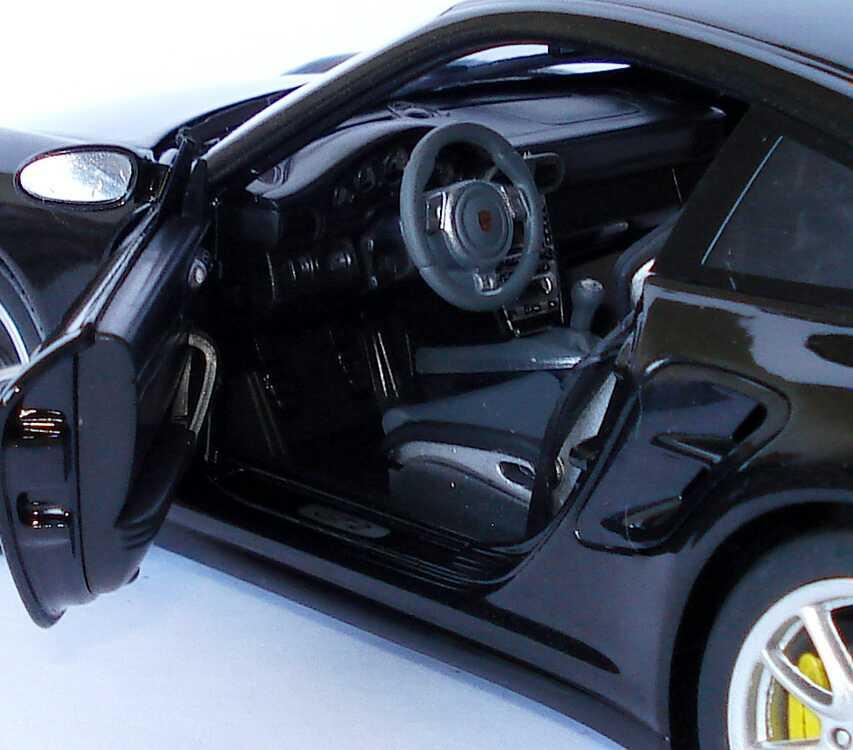 Foto 1:18 Porsche 911 GT2 (997) basaltschwarz-met. Werbemodell Norev WAP02100118