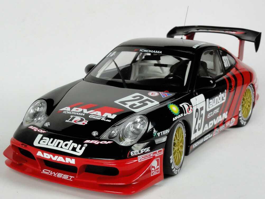 Foto 1:18 Porsche 911 GT3 (996) Super Taikyu 2005 Advan Nr.25, Orido / Taniguchi AUTOart 80587