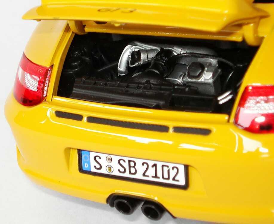 Foto 1:18 Porsche 911 GT3 (997, Modell 2009) gelb Norev 187560