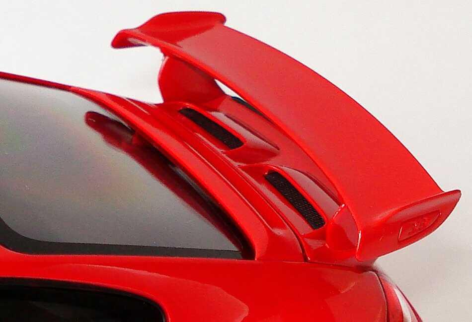 Foto 1:18 Porsche 911 GT3 (997, Modell 2009) indischrot Werbemodell Norev WAP02101319