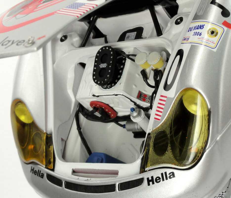 Foto 1:18 Porsche 911 GT3 RSR (996) 24h von Le Mans 2006 Flying Lizard Motorsports Nr.80, Neiman / Long / van Overbeek Minichamps 100066480