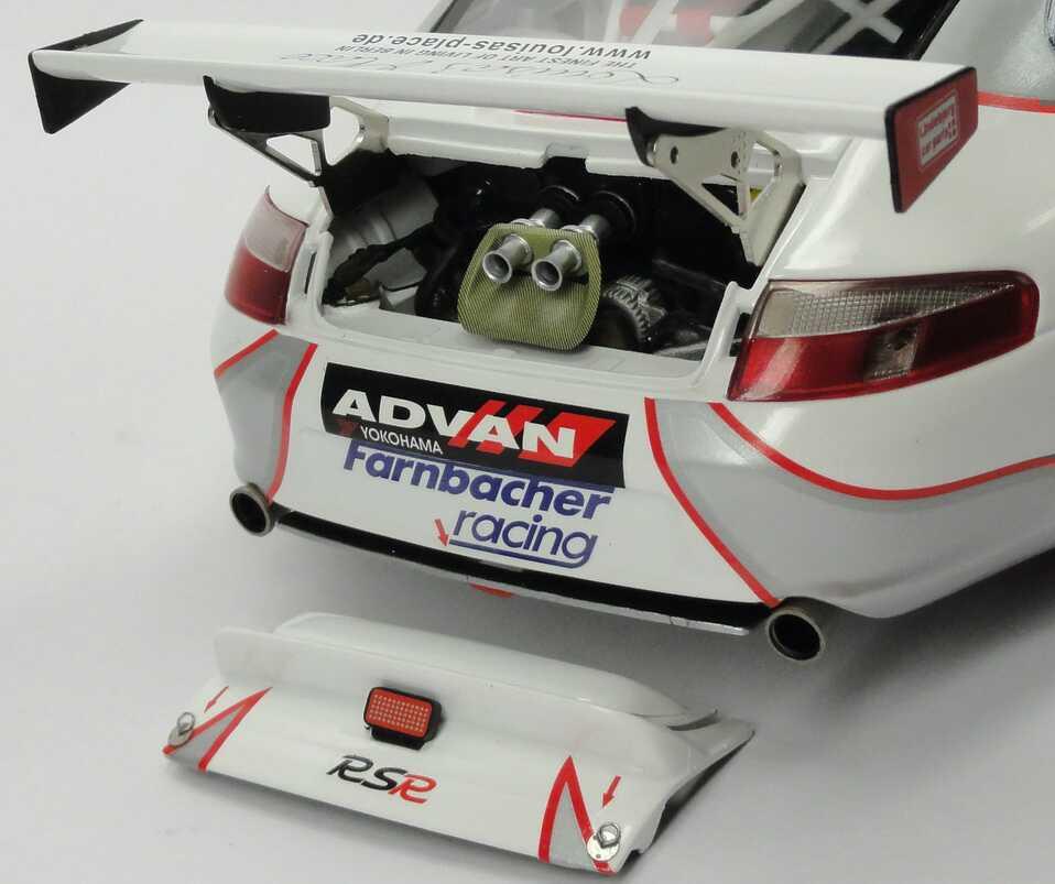 Foto 1:18 Porsche 911 GT3 RSR (996) 24h von Le Mans 2006 Seikel Motorsport, Maledives... Nr.83, Nielsen / Ehret / Farnbacher Minichamps 100066483