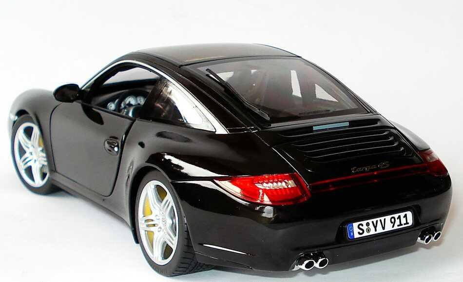 Porsche Carrera S >> Porsche 911 Targa 4S (997, Modell 2009) schwarz Norev ...