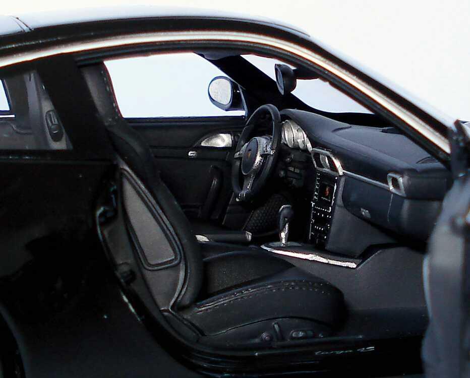 Foto 1:18 Porsche 911 Targa 4S (997, Modell 2009) schwarz Werbemodell Norev WAP02101518