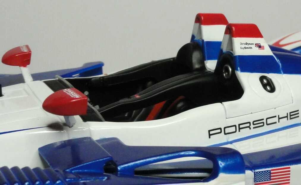 Foto 1:18 Porsche RS Spyder ALMS 2007 Dyson Racing, Thetford Nr.20, Chris Dyson / Guy Smith Norev 187518