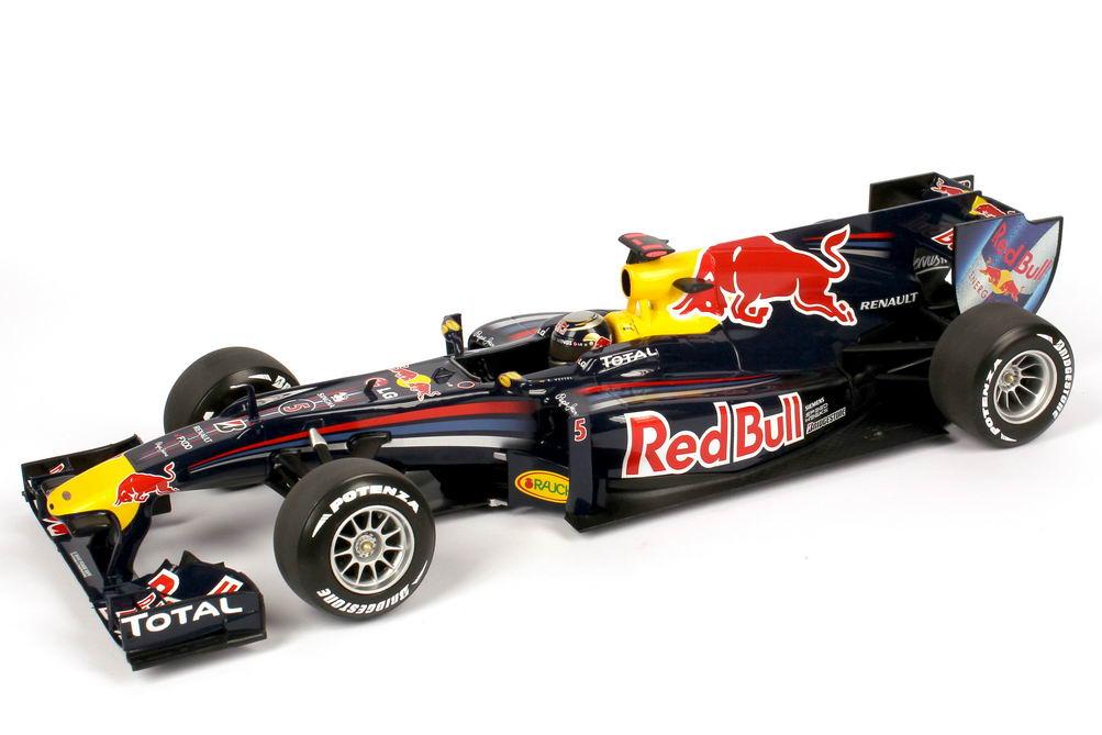 Foto 1:18 Red Bull Racing Renault RB6 Formel 1 2010 Nr.5, Sebastian Vettel Minichamps 110100005