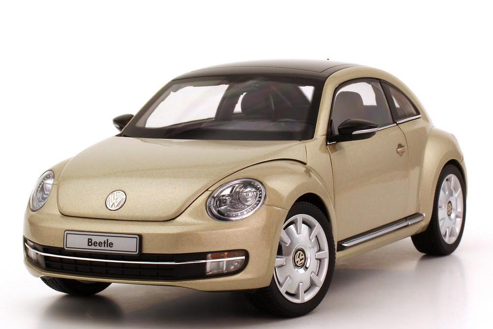 Foto 1:18 VW Beetle (2011) moon-rock-silver-met. Kyosho 08811MS
