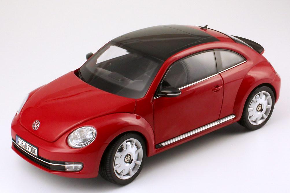 Foto 1:18 VW Beetle (2011) tornado-rot Werbemodell Kyosho 5C1099302ANA