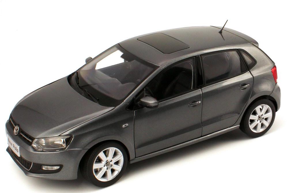 Foto 1:18 VW (Shanghai Volkswagen) Polo V 2011 4türig grau-met. Paudi 2246GY