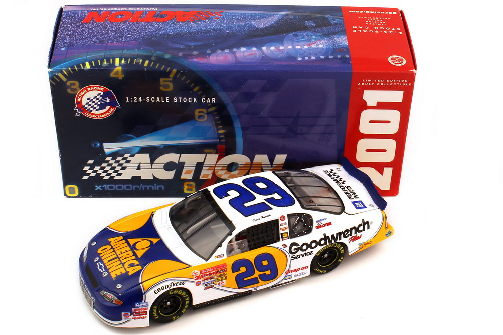 Foto 1:24 Chevrolet Monte Carlo SS NASCAR 2001 RCR Goodwrench AOL Nr.29 Levin Harvick - ACTION Collectables 101804