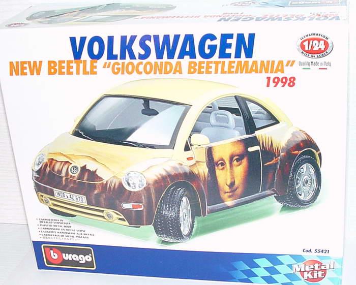 Foto 1:24 Bausatz VW New Beetle Gioconda Beetlemania Bburago 55421