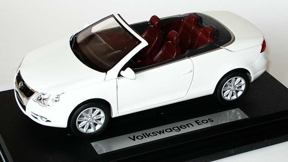 Foto 1:24 VW Eos candyweiß Werbemodell Gartex 1F0099303B9A