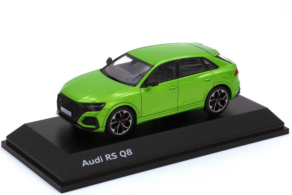 Foto 1:43 Audi RS Q8 javagrün-met. - Werbemodell - Paragon 5011818631