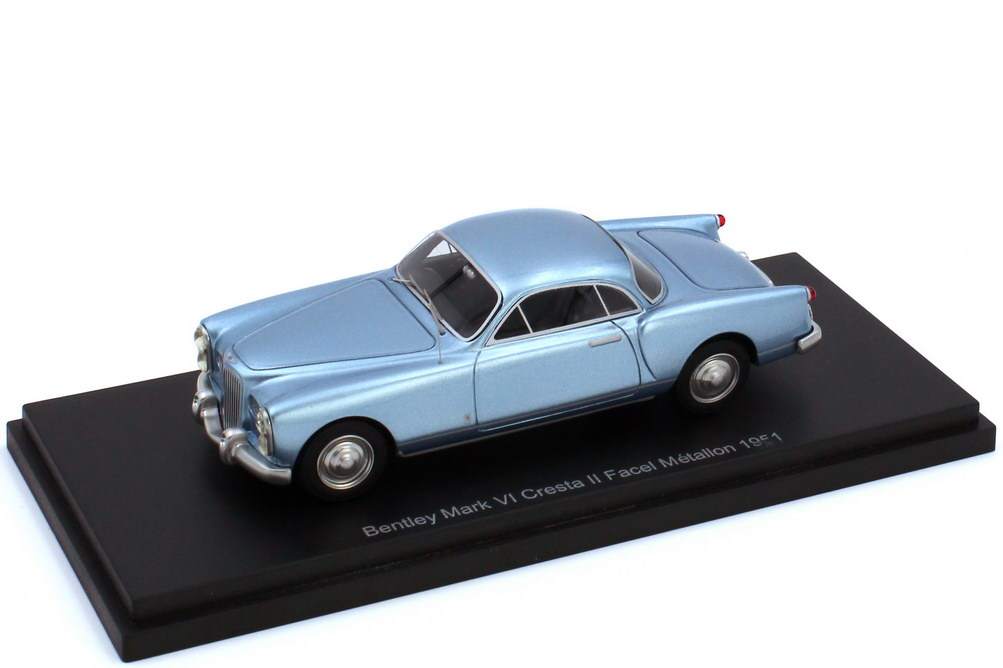 Foto 1:43 Bentley Mark VI Cresta II Facel Métallon 1951 RHD hellblau-met. - BoS 43470