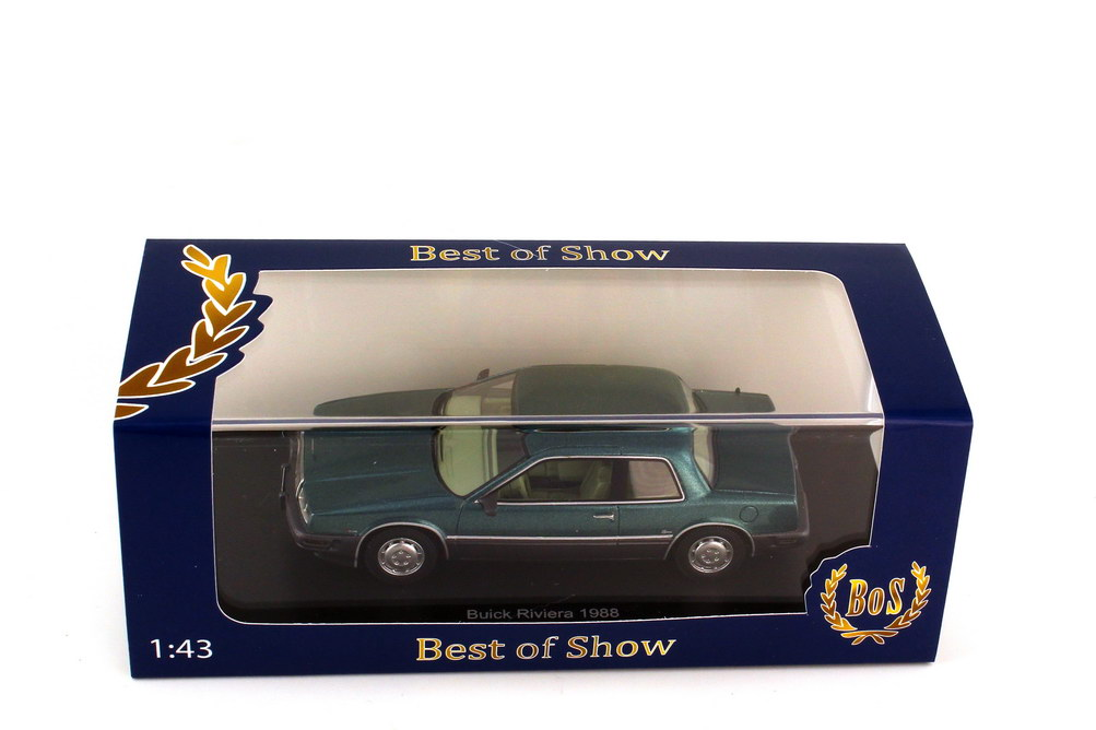 1960-1:87 BOS   />/>NEW/</< Bestattungswagen Buick Flxible Premier schwarz