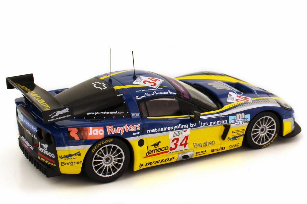 Foto 1:43 Chevrolet Corvette C6-R 24h Spa 2006 Nr.34 Menten Belloc Bornhauser Bouvy Ixo GTM060