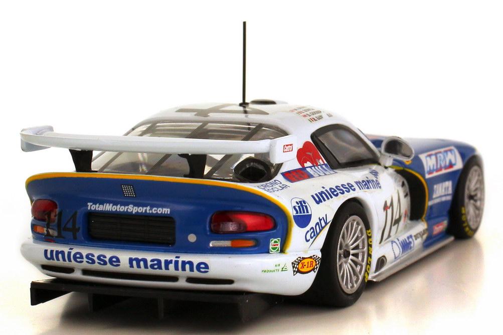 Foto 1:43 Dodge Viper GTS-R Daytona 24h 2001 MRW uniesse marine Nr.114 Zonca Gooding Sangiulio Duno Minichamps 400 011414