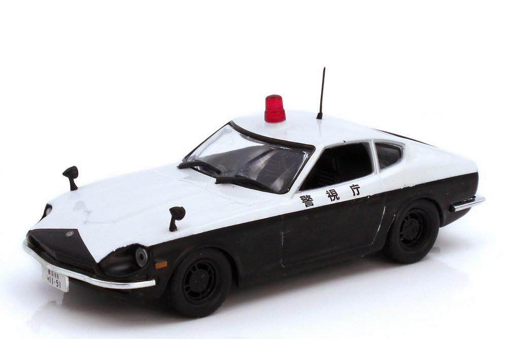 Foto 1:43 Nissan Datsun 240Z Polizei Japan - Ixo Altaya-Edition