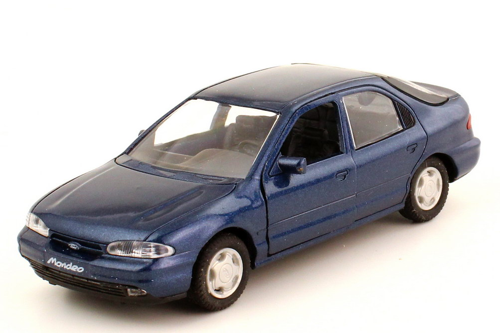 Foto 1:43 Ford Mondeo Fließheck 1992 MK1 blau-met. - Werbemodell - Gama 51020