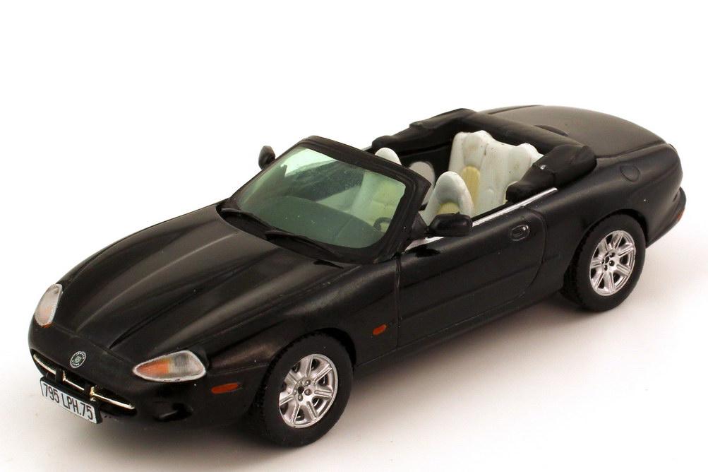 Foto 1:43 Jaguar XK8 X100 Cabriolet anthracite-grey-met. Vitesse V100B