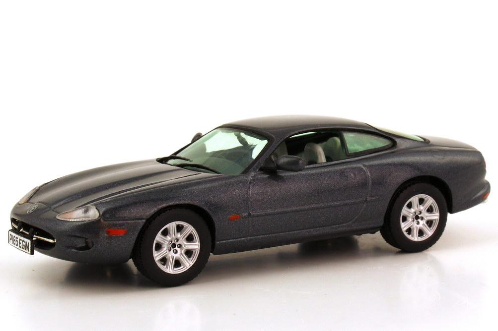 Foto 1:43 Jaguar XK8 X100 Coupé RHD titanuium-grey-met. Vitesse V101B
