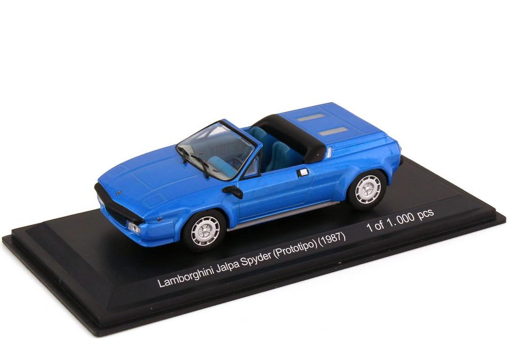 Foto 1:43 Lamborghini Jalpa Spyder Prototipo 1987 blau-met. - WhiteBox WB511