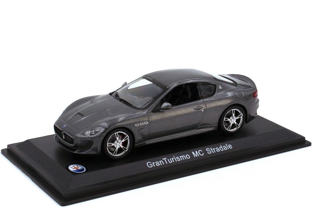 Foto 1:43 Maserati GranTourismo MC Stradale grigio-granito-met. - WhiteBox WBS040