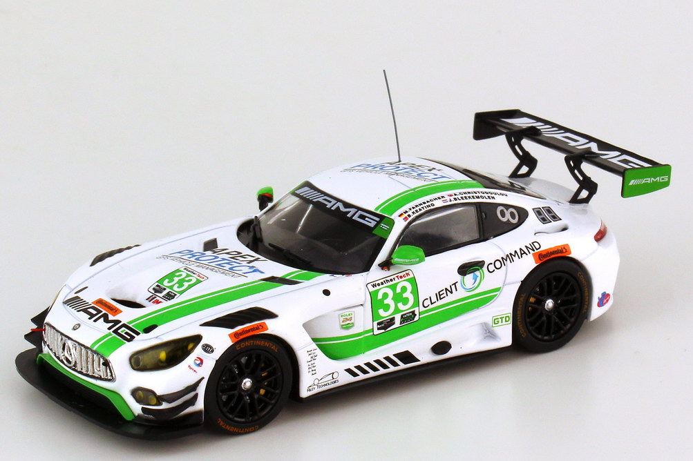 Mercedes-AMG GT3  24h Daytona 2017  SunEnergy1 Racing  1:43 IXO GTM 113 NEU
