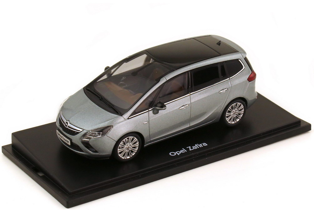 Foto 1:43 Opel Zafira Tourer silbersee-met. Opel - MotorArt 4300867000000