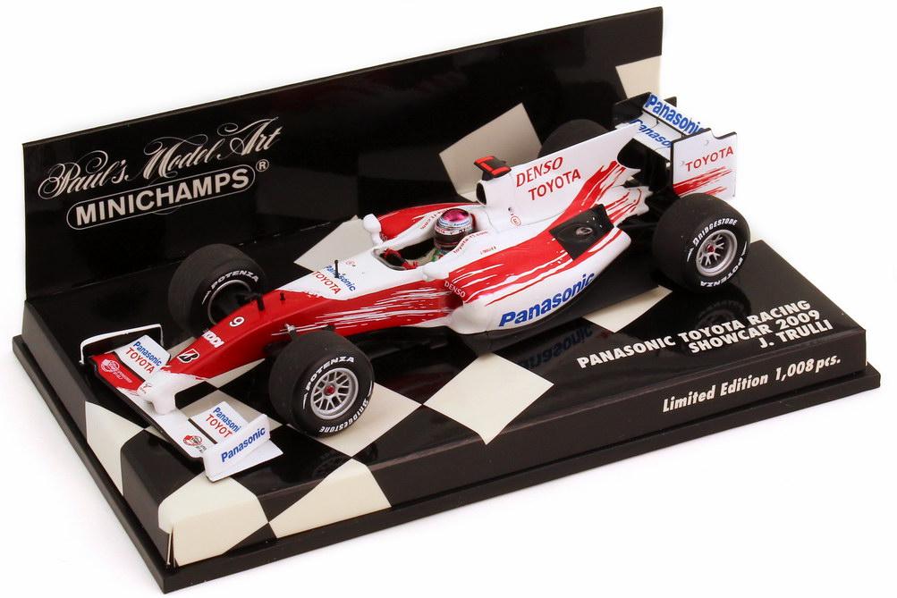 Foto 1:43 Panasonic Toyota Racing TF109 Showcar Formel 1 2009 Nr.9 Jarno Trulli Minichamps 400 090079