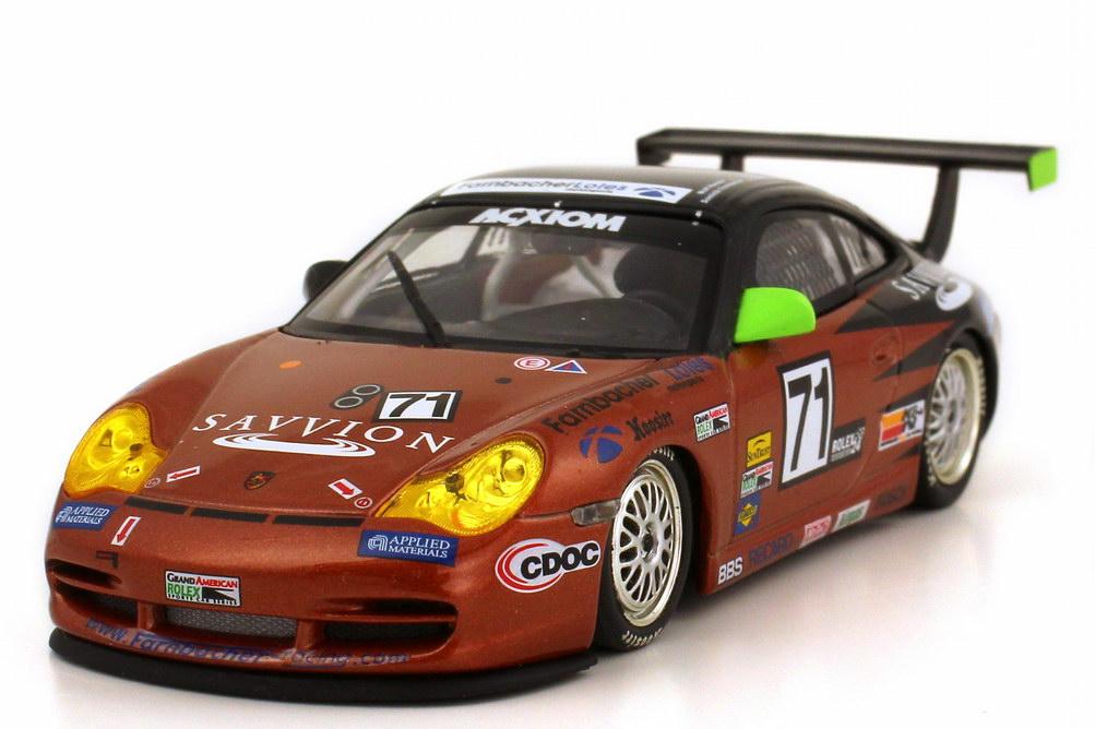 Foto 1:43 Porsche 911 GT3 Cup 996 24h Daytona 2005 Savvion Nr.71 Henzler Farnbacher Price Ehret Winner GT Class Minichamps 400 056271