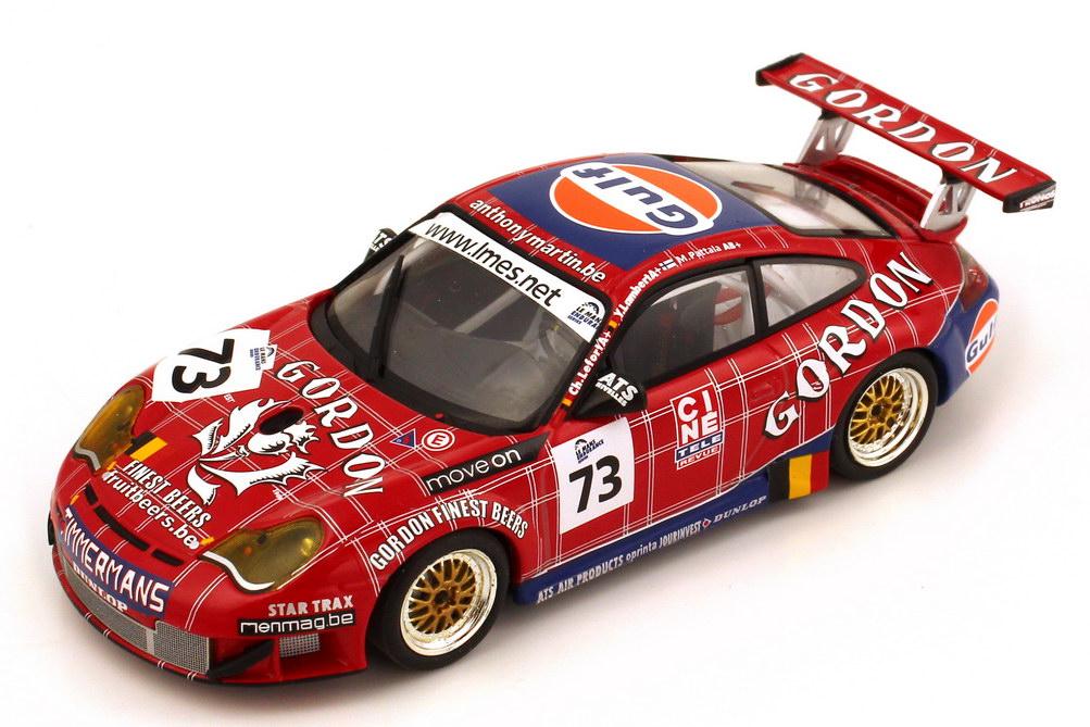 Foto 1:43 Porsche 911 GT3 RSR 996 1000 km Spa Francorchamps 2005 Gordon Gulf Nr.73 Lambert Lefort Palttala Minichamps 400 056473