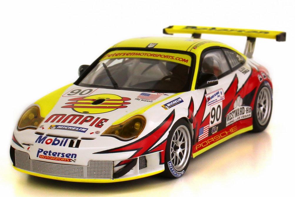Foto 1:43 Porsche 911 GT3 RSR 996 24h Le Mans 2005 Petersen MMPie Nr.90 Bergmeister Long Bernhard Minichamps 400 056490