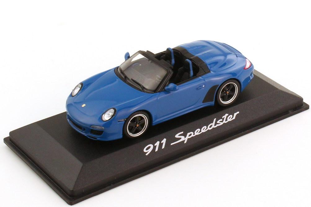 Foto 1:43 Porsche 911 Speedster 997 Modell 2010 purblau - Werbemodell - Minichamps WAP0200090B