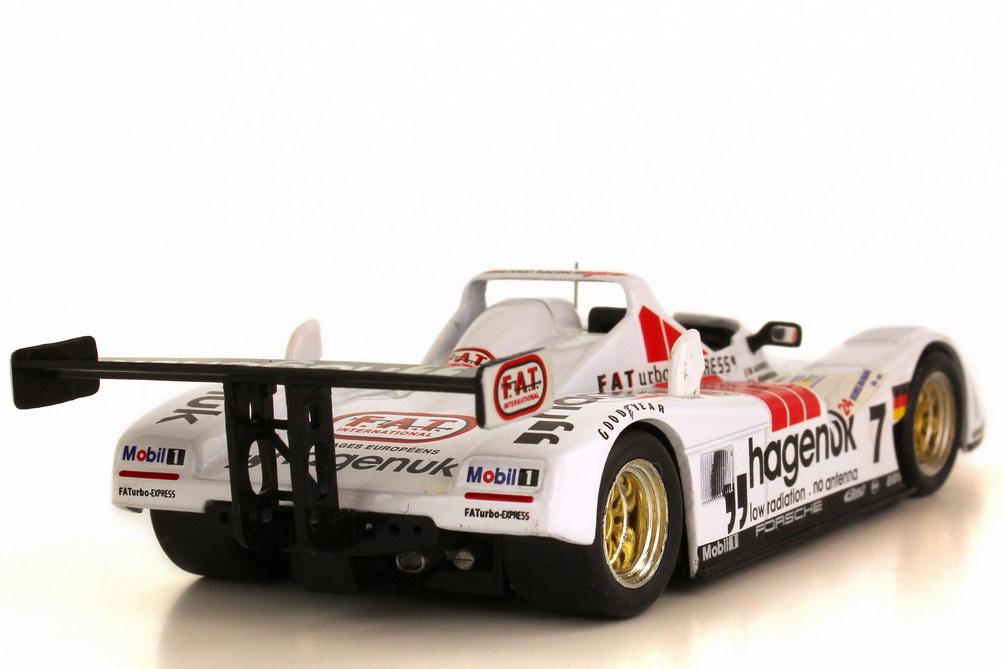 Foto 1:43 Porsche TWR WSC-95 24h von Le Mans 1997 Joest Racing hagenuk Nr.7 Michele Alboreto Stefan Johansson Tom Kristensen Sieger Ixo