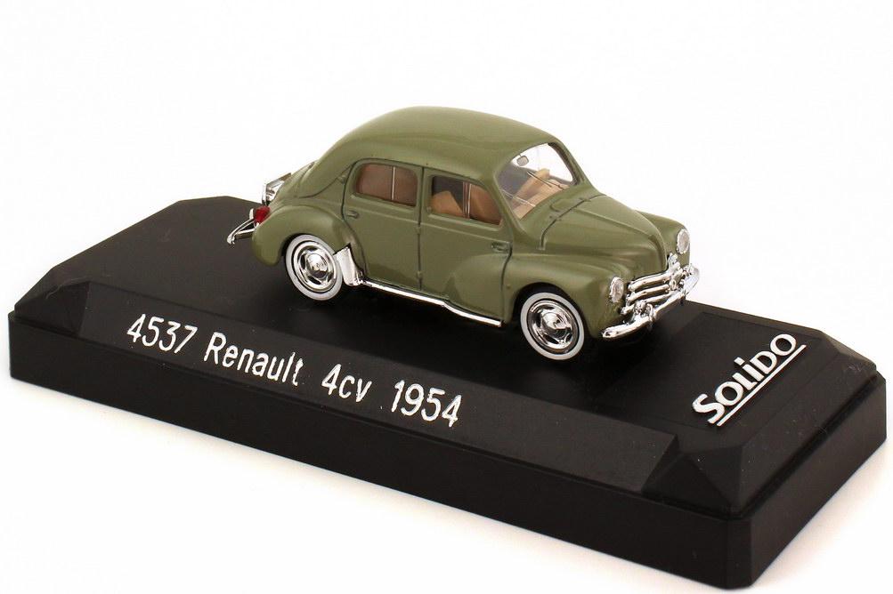 Foto 1:43 Renault 4CV 1954 graugrün Solido 4537