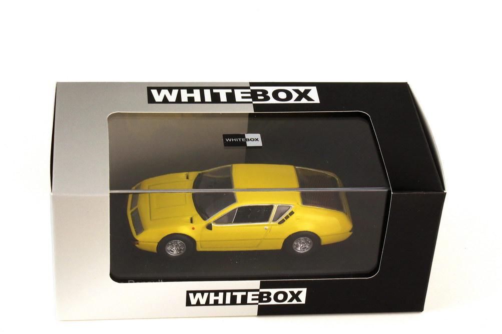 Foto 1:43 Renault Alpine A310 1600 gelb - WhiteBox WB160