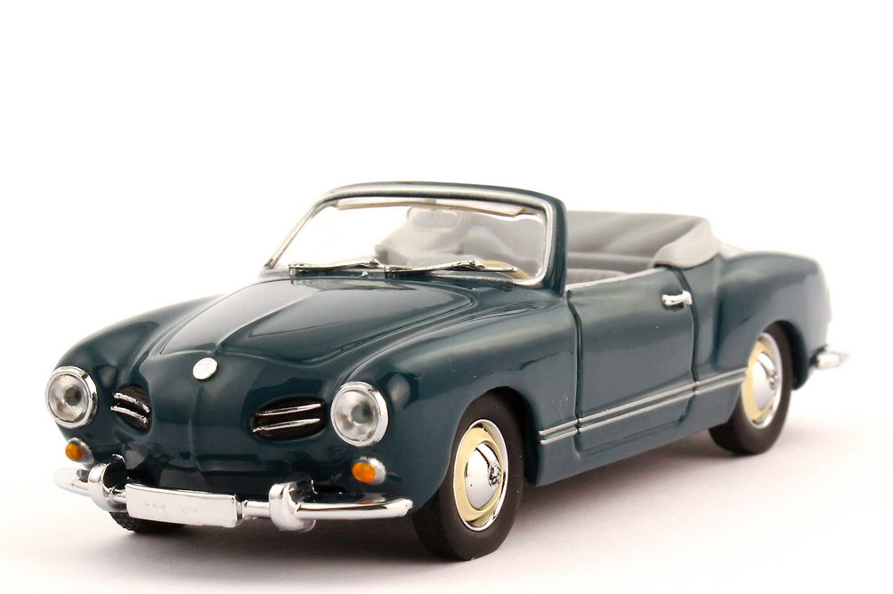1 43 vw karmann ghia typ 14 cabrio seeblau graue verp dealer minichamps ebay. Black Bedroom Furniture Sets. Home Design Ideas