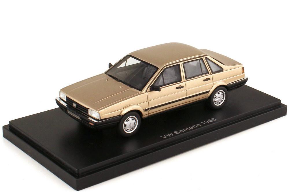 Foto 1:43 VW Passat Stufenheck Typ B2 1986 savannenbeige-met. - BoS 43375