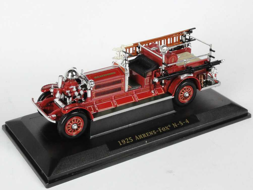 Foto 1:43 Ahrens-Fox N-S-4 (1925) Fire Engine Baltimore Yat Ming 43004