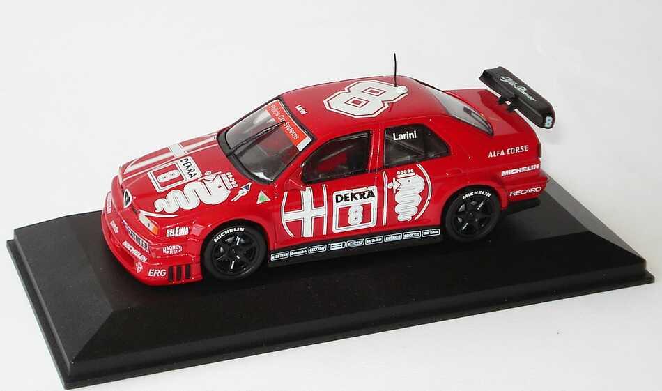 Foto 1:43 Alfa Romeo 155 V6 TI DTM 1993 Alfa Corse Nr.8, Larini Minichamps 930121